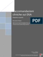 Slide Raccomandazioni Cliniche Sui Dsa