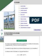 7, LA ELECTRICIDADY LA ENERGIA