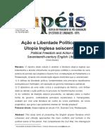 Ação e Liberdade Políticas na Utopia Inglesa Seiscentista - Papéis