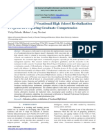 Implementation of Vocational High School Revitalization Program in Preparing Graduate Competencies