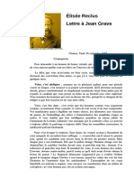Élisée Reclus (1885) - Lettre à Jean Grave (Voter c'est abdiquer)