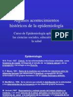 Evolución de la Epidemiología