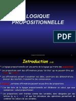 LOGIQUE Propositionnelle
