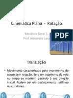 Cinem+ítica Plana  -  Rota+º+úo
