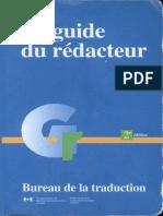 LE GUIDE DU REDACTEUR