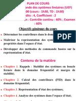 Chapitre_1_Commande Des Systèmes Linéaires _LAT51