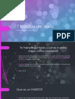 7 Habitos de Jesús