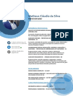 Matheus Cláudio da Silva - CURRICULO