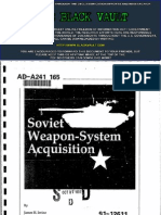 Soviet Weapon-System Acquisition