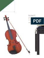 Hiswill Piano and Violin 악보집