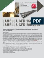 Lamelle CFK Pultruse in Carbonio Sch. Tec. CFK 150 200 2000CA43