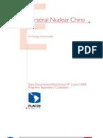 arsenal nuclear chino