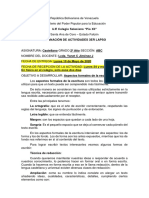 Objetivo Nº 2. ASPECTOS FORMALES DE LA ESCRITURA