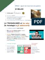 Lezione Francese Un Sac de Billes