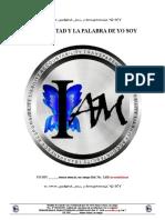 01_01_LA VOLUNTAD Y LA PALABRA DE YO SOY DECLARACION DEL YO SOY