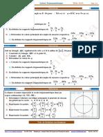 Exercices 3 Calcul trigonométrique (www.a9lame.com)