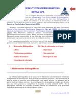 Referencias y citas bibliográficas - APA