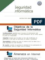 SEGRURIDAD INFORMATICA OBJETIVOS
