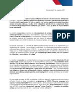 Comunicado FA Estevez