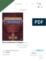 Novo Testamento Trilíngue _ Vida Nova