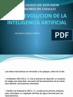 EVOLUCION DE LA INTELIGENCIA ARTIFICIAL