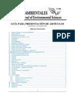 Guia para la presentación de artículos