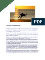 Tradiciones y costumbres de Australia