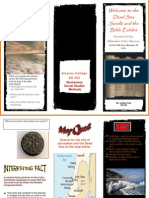 ED 352 Dead Sea Scroll Exhibit Brochure