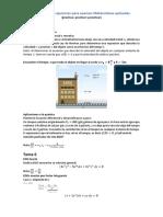 Simulación de ejercicios para examen Matemáticas aplicadas 2doParcial