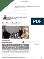 Entrevista com Roger Scruton
