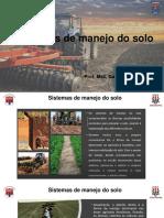 Aula 3 - Sistemas de manejo do solo