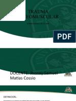 MATIAS TRAUMA OSTEO MUSCULAR