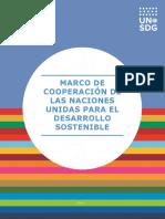 ES_UN Sustainable Development Cooperation Framework Guidance