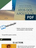 Introdução Atos dos Apóstolos (1)