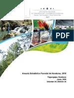 Anuario Forestal 2019