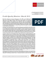 Credit Quality Monitor-March 2011