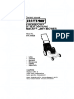 pushmower manual