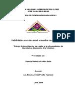 Revisión final - Prof. Patricia Castillo Solis