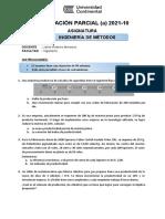 Evaluación Parcial Tipo a 2021 10
