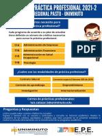 INSTRUTIVO PRÁCTICAS PROFESIONALES PASTO