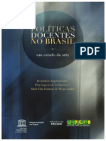 Livro- Políticas Docentes No Brasil - o Estado Da Arte