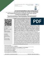 Uso de FPT Para Estimativa Da Retenção de Água Em Um Latossolo No Estado de Rondônia