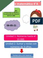 4°A matemática 04-05-21