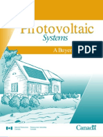 Photovoltaic Systems - Buyer's Guide