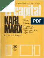 Karl Marx - El Capital. Libro Tercero (Vol. 6)-Siglo XXI (1976)