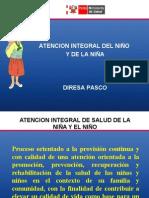 ATENCION INTEGRAL DEL NIÑO Y DE LA NIÑA