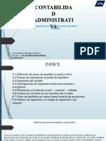 Analisis Relación Costo Volumen Utilidad