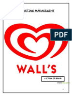 Report on WALL'S