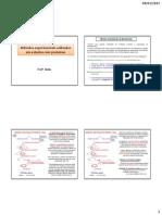 Aula 07 - Métodos experimentais utilizados em estudos com proteínas- Final