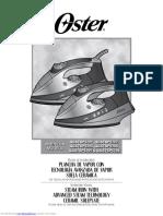 manual plancha oster cgs